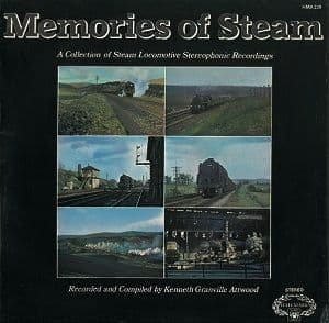 Memories Of Steam Vinyl Record LP Hallmark 1978