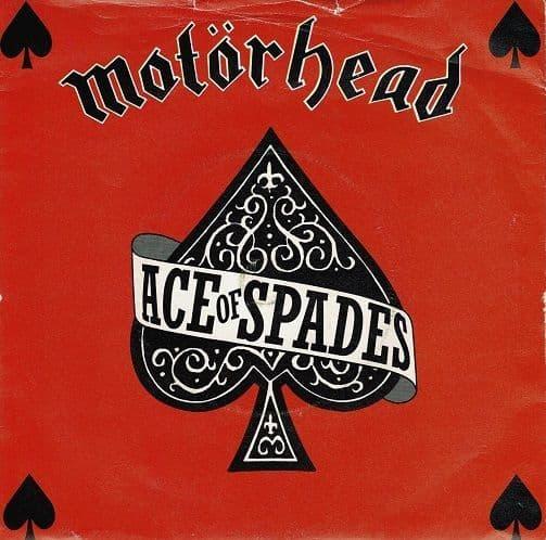 MOTORHEAD Ace Of Spades Vinyl Record 7 Inch Bronze 1980