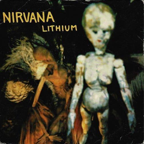 NIRVANA Lithium Vinyl Record 7 Inch DGC 1992
