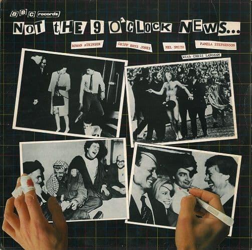 NOT THE NINE O'CLOCK NEWS Not The Nine O'Clock News Vinyl Record LP BBC 1980