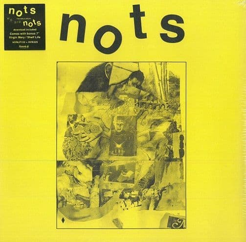 NOTS We Are Nots Vinyl Record LP Heavenly 2015