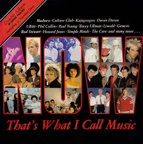 Now That's What I Call Music 1 Vinyl Record LP EMI 1983