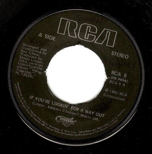 ODYSSEY If You're Lookin' For A Way Out Vinyl Record 7 Inch RCA 1980