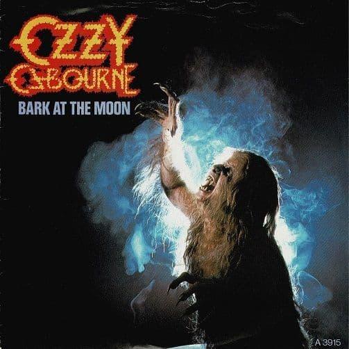 OZZY OSBOURNE Bark At The Moon Vinyl Record 7 Inch Epic 1983