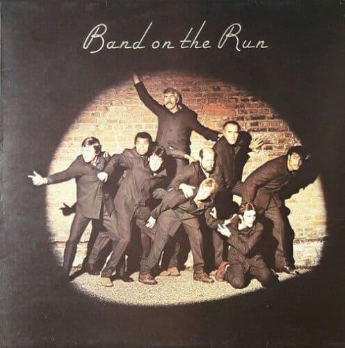 PAUL McCARTNEY AND WINGS Band On The Run Vinyl Record LP German Apple 1973