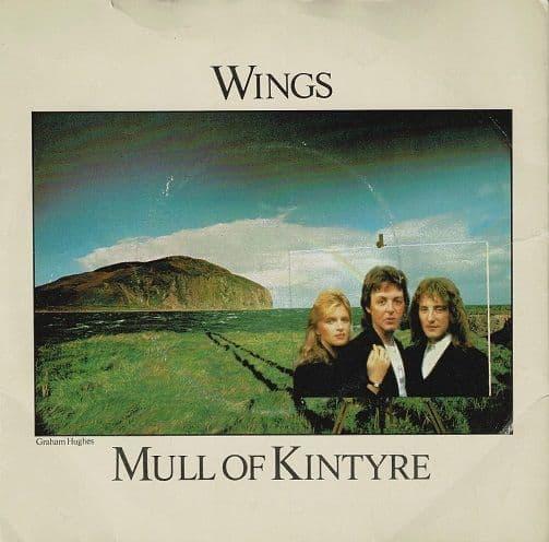 PAUL McCARTNEY AND WINGS Mull Of Kintyre Vinyl Record 7 Inch Australian Capitol 1977