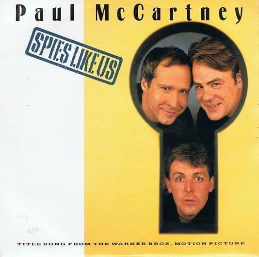 "PAUL McCARTNEY Spies Like Us 7"" Single Vinyl Record 45rpm Parlophone 1985"