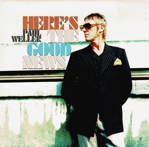 PAUL WELLER Here's The Good News Vinyl Record 7 Inch V2 2005