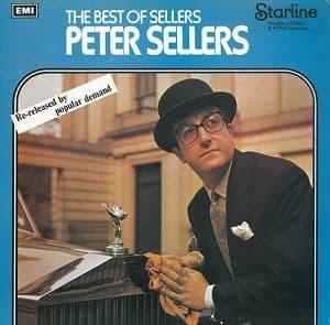 PETER SELLERS The Best Of Sellers Vinyl Record LP Starline 1973
