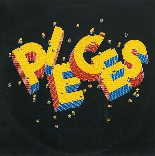 PIECES Pieces Vinyl Record LP United Artists 1979