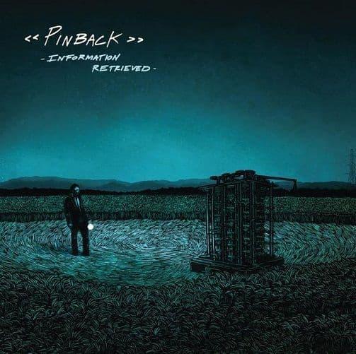 PINBACK Information Retrieved Vinyl Record LP Temporary Residence 2012