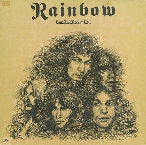 RAINBOW Long Live Rock 'N' Roll Vinyl Record LP Polydor 1978
