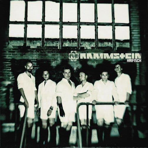 RAMMSTEIN Haifisch Vinyl Record 7 Inch Universal 2010 Blue Vinyl