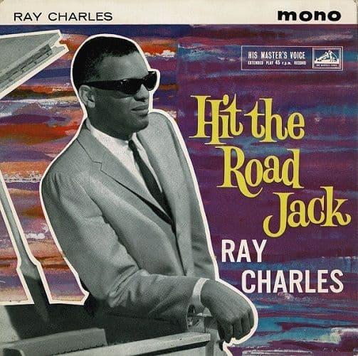 RAY CHARLES Hit The Road Jack EP Vinyl Record 7 Inch HMV 1962