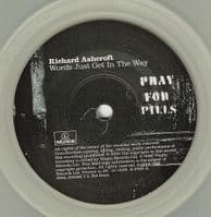 RICHARD ASHCROFT Words Just Get In The Way Vinyl Record 7 Inch Parlophone 2006 Clear Vinyl