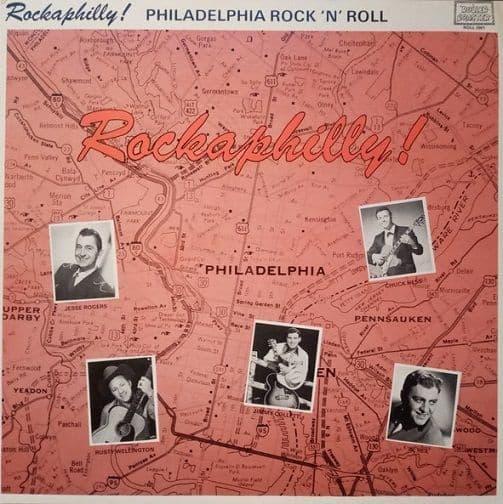 Rockaphilly - Philadelphia Rock 'N' Roll Vinyl Record LP Rollercoaster 1978