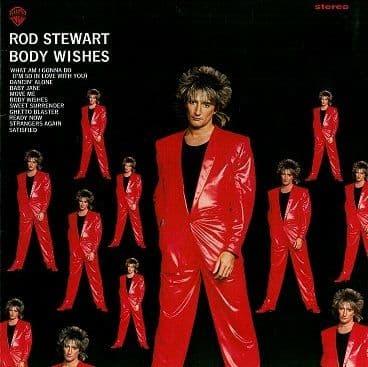 ROD STEWART Body Wishes Vinyl Record LP German Warner Bros. 1983
