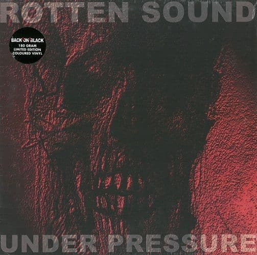 ROTTEN SOUND Under Pressure Vinyl Record LP Back On Black 2016 Blue Vinyl