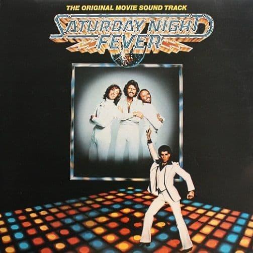 Saturday Night Fever Vinyl Record LP RSO 1977