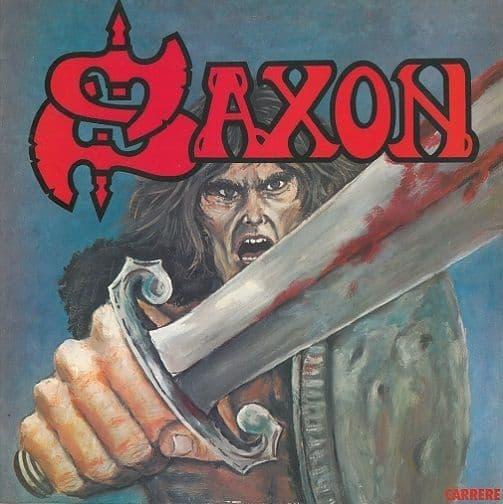 SAXON Saxon Vinyl Record LP Carrere 1979