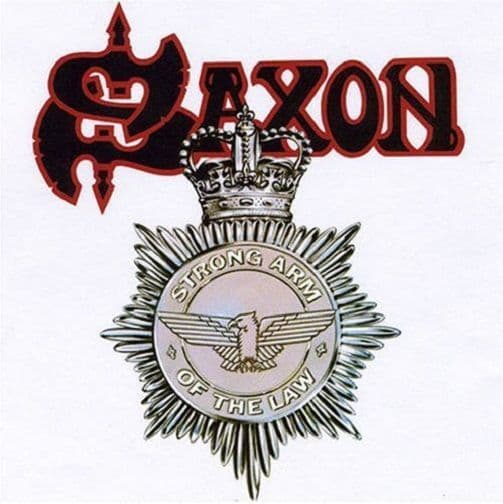 SAXON Strong Arm Of The Law Vinyl Record LP Carrere 1980