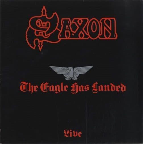 SAXON The Eagle Has Landed Vinyl Record LP Carrere 1982