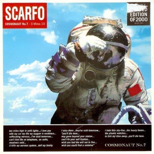 SCARFO Cosmonaut No. 7 Vinyl Record 7 Inch Deceptive 1997