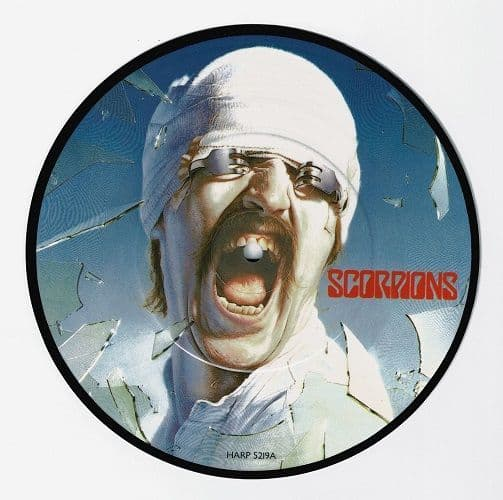 SCORPIONS No One Like You Vinyl Record 7 Inch Harvest 1982 Picture Disc