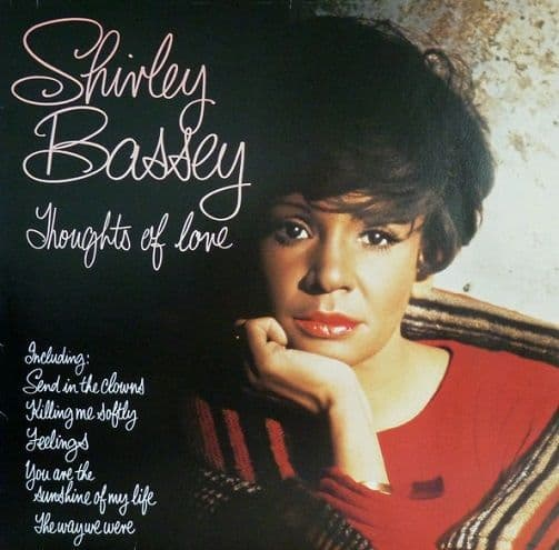 SHIRLEY BASSEY Thoughts Of Love LP Vinyl Record Album 33rpm United Artists 1976