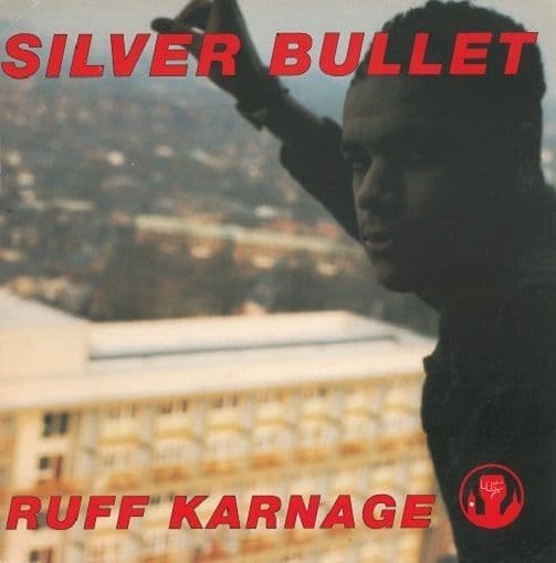 SILVER BULLET Ruff Karnage Vinyl Record 12 Inch Parlophone 1991