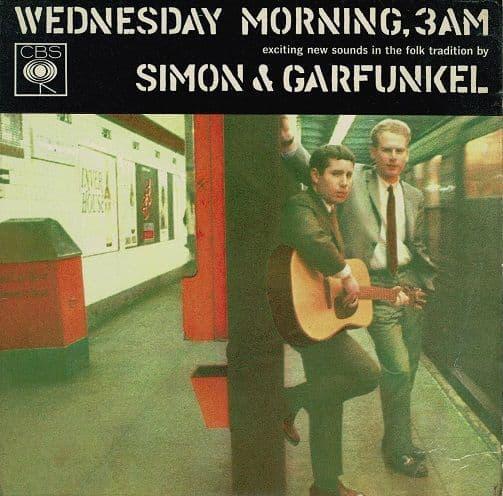 SIMON & GARFUNKEL Wednesday Morning, 3 A.M. EP Vinyl Record 7 Inch CBS 1965