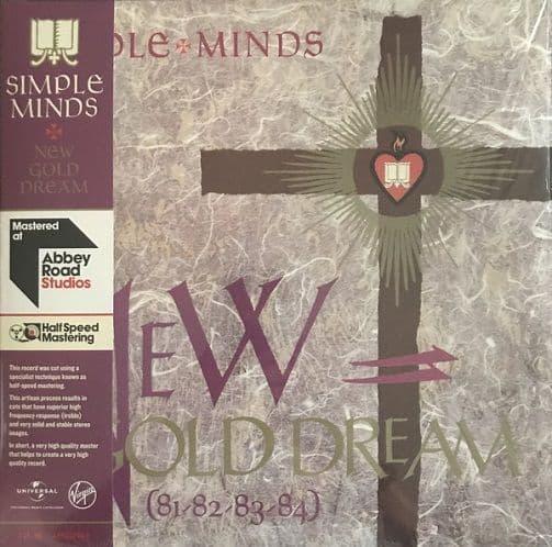 SIMPLE MINDS New Gold Dream Vinyl Record LP Virgin 2016