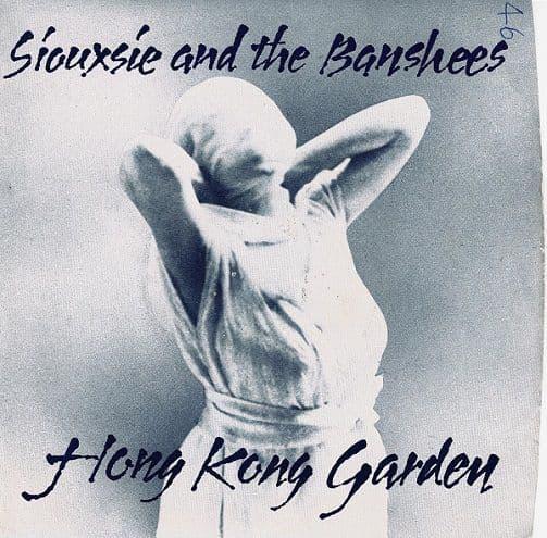 SIOUXSIE AND THE BANSHEES Hong Kong Garden Vinyl Record 7 Inch Polydor 1978