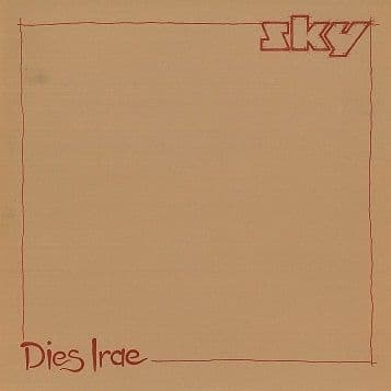 "SKY Dies Irae 12"" Single Vinyl Record Ariola 1980"