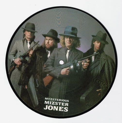 SLADE Myzsterious Mizster Jones Vinyl Record 7 Inch RCA 1985 Picture Disc