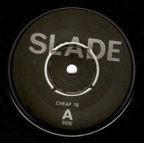 SLADE We'll Bring The House Down Vinyl Record 7 Inch Cheapskate 1981