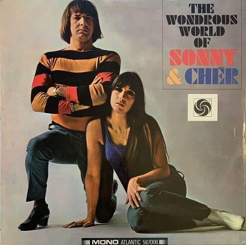 SONNY & CHER The Wondrous World Of Sonny & Cher Vinyl Record LP Atlantic 1966