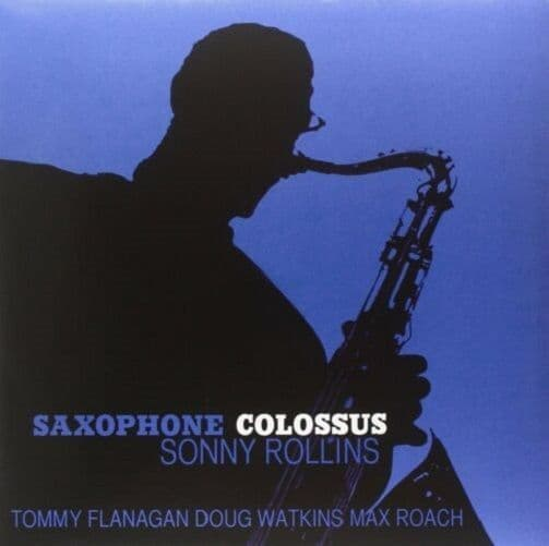 SONNY ROLLINS Saxophone Colossus Vinyl Record LP Ermitage