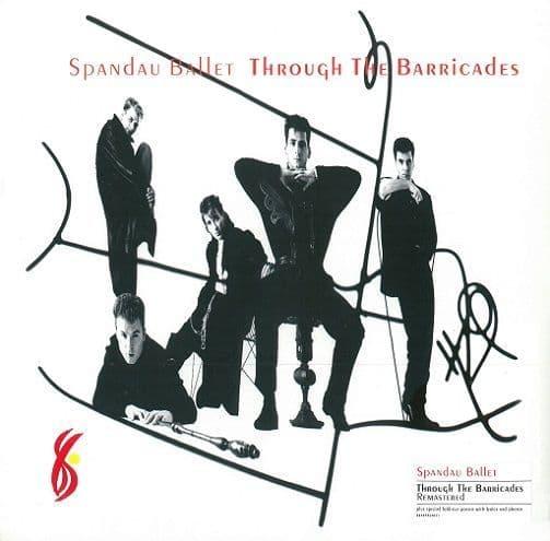 SPANDAU BALLET Through The Barricades Vinyl Record LP Legacy 2017