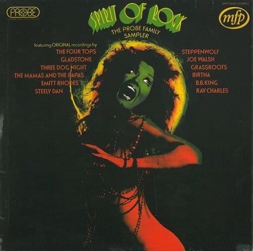 Spirit Of Rock - The Probe Family Sampler Vinyl Record LP MFP 50046