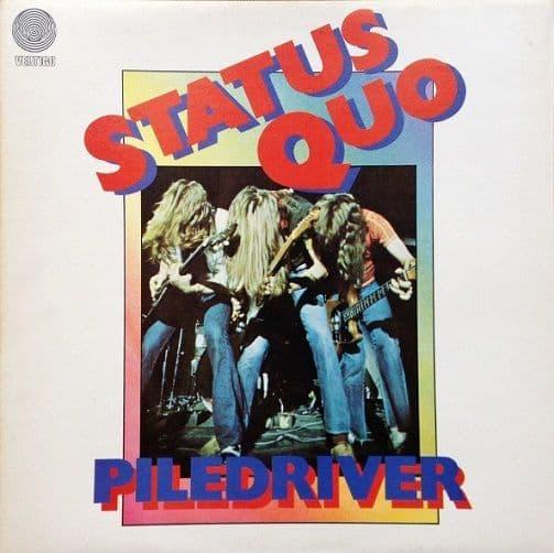 STATUS QUO Piledriver Vinyl Record LP Vertigo