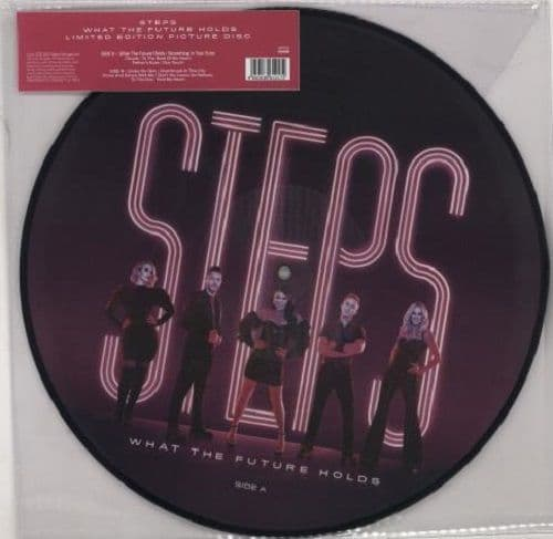 STEPS What The Future Holds Vinyl Record LP BMG 2020 Picture Disc