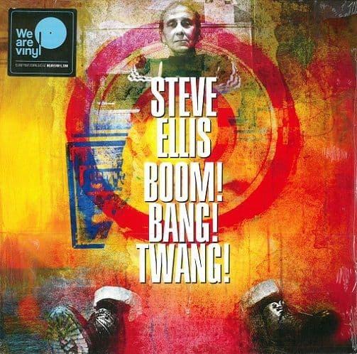 STEVE ELLIS Boom! Bang! Twang! Vinyl Record LP Sony Music 2018