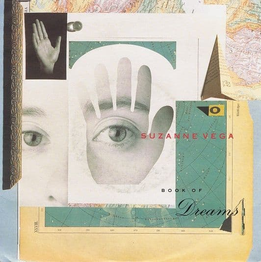 "SUZANNE VEGA Book Of Dreams 7"" Single Vinyl Record 45rpm A&M 1990"