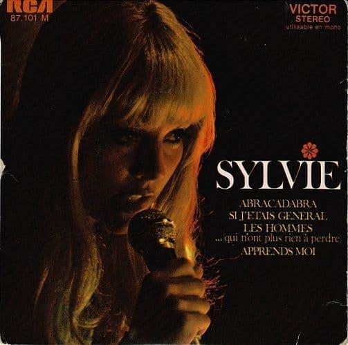 SYLVIE VARTAN Abracadabra EP Vinyl Record 7 Inch French RCA Victor 1969
