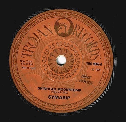 SYMARIP Skinhead Moonstomp Vinyl Record 7 Inch Trojan 1980