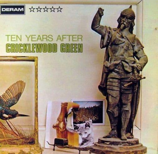 TEN YEARS AFTER Cricklewood Green Vinyl Record LP German Deram 1970