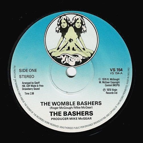 THE BASHERS The Womble Bashers Vinyl Record 7 Inch Virgin 1976