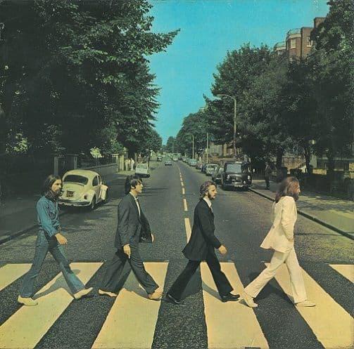 THE BEATLES Abbey Road Vinyl Record LP Apple 1969