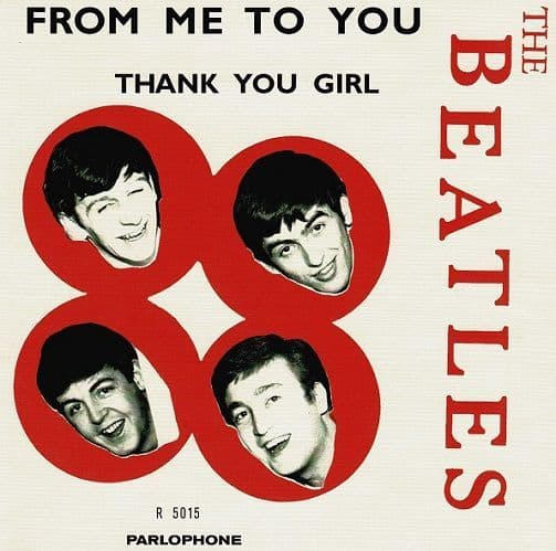 THE BEATLES From Me To You Vinyl Record 7 Inch Parlophone 2019